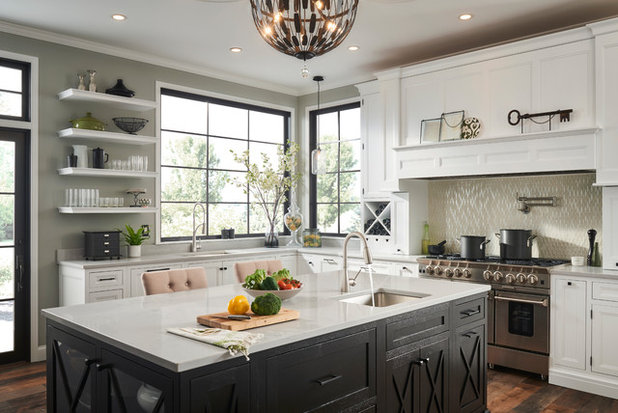 Transitional Kitchen by Elkay