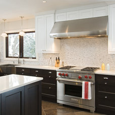 Transitional Kitchen by Design First Interiors