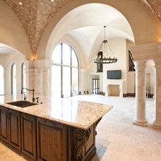 Mediterranean Kitchen by Creative Touch Interiors