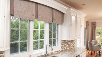 Luxurious Draperies for a kitchen In Burr Ridge IL