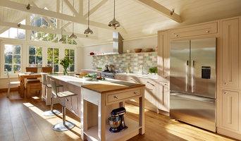 Luxurious kitchen Garden room
