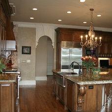 Traditional Kitchen by Alex Custom Homes, LLC