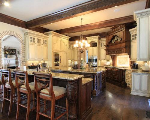 luxury custom kitchen design | houzz