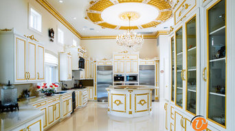 LUXURY CUSTOM WHITE KITCHEN CABINETS