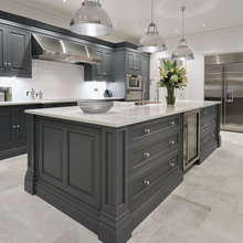 Grey Painted Kitchens