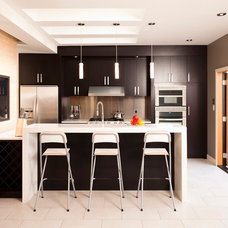 Contemporary Kitchen by Kerr Construction
