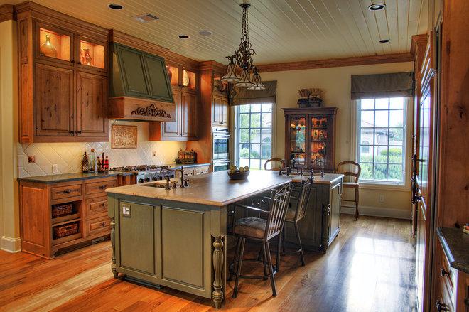 Traditional Kitchen by Village Interior Design LLC