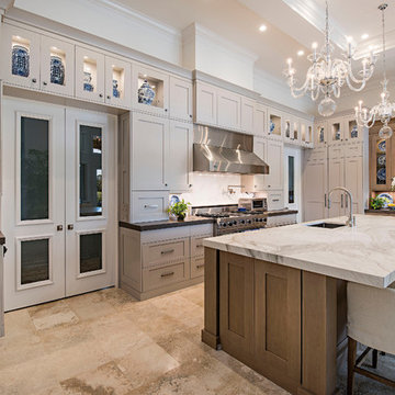 Luxury Kitchen Remodel with High End Cabinetry