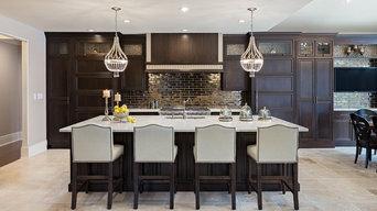Luxury Kitchen with Swarovski crystal Hardware