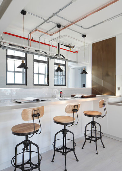Industrial Kitchen by Oliver Burns