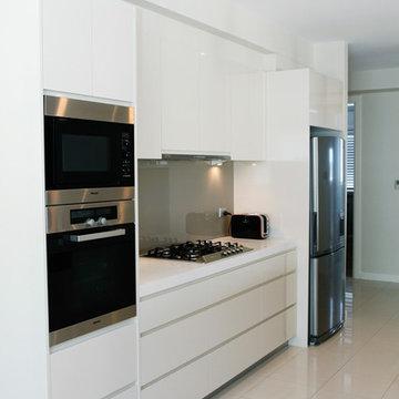 Luxury modern open plan kitchen