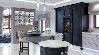 Luxury Painted and Ebony Kitchen
