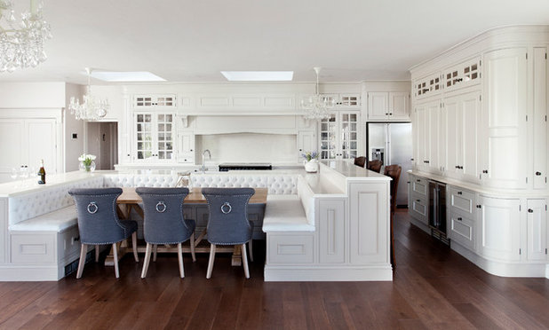 50 inspiring island benches and stools houzz for Jonathan williams kitchens