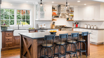 Luxury Rustic Kitchen in Huntington Station, NY