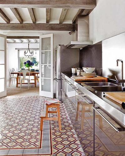 Casa de campo Cocina by www.LUXURYSTYLE.es