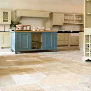 75 Beautiful Vinyl Floor Kitchen With Green Cabinets Pictures Ideas September 2020 Houzz