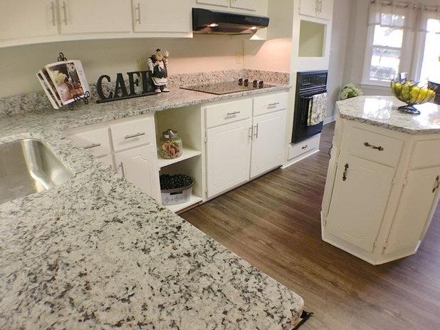 Traditional Kitchen by Carpet Hut by F.V. Woolard