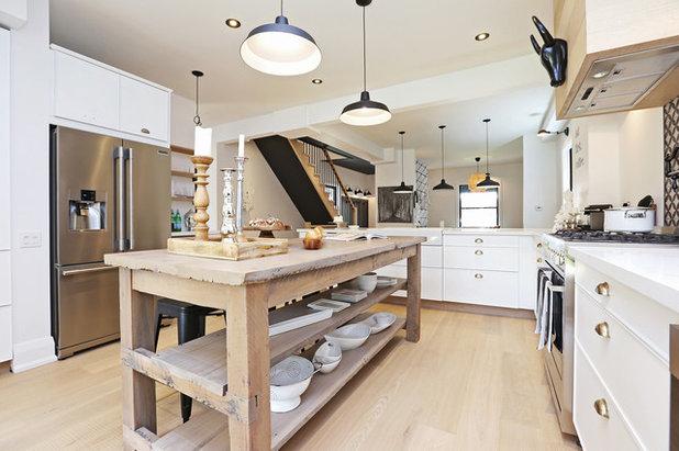北欧 キッチン by Homegirl Renovation Management + Design