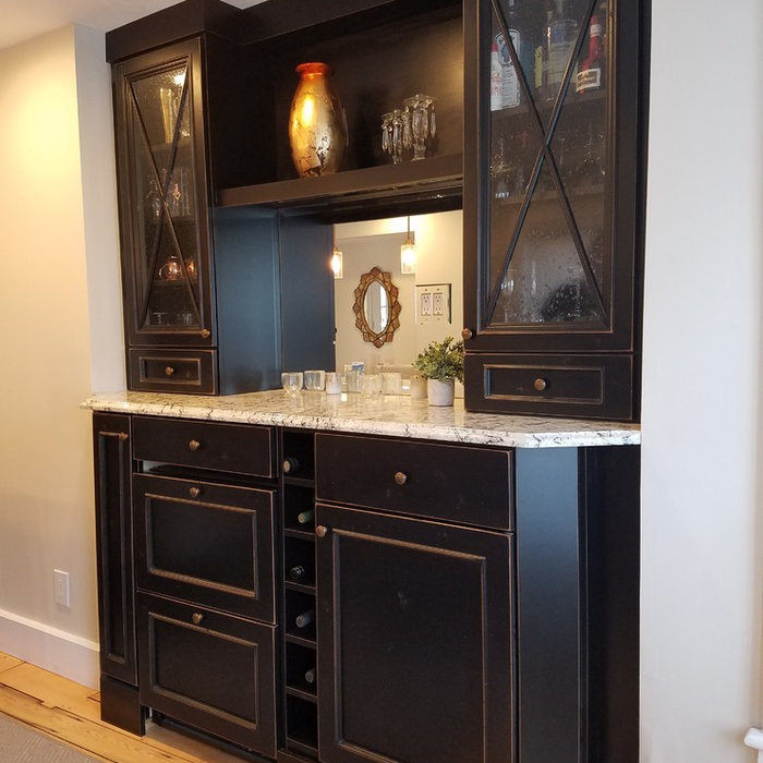 Bar and Dining Room Buffet
