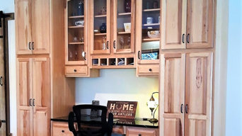 Lyndeborough - Spacious Hickory Kitchen