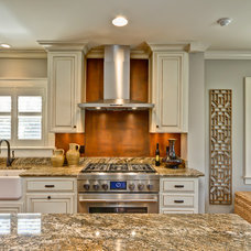 Traditional Kitchen by Broderick Builders