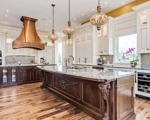 Large Traditional Eat In Kitchen Ideas   Eat In Kitchen   Large Traditional  L