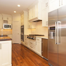 Transitional Kitchen by L and L of Raleigh