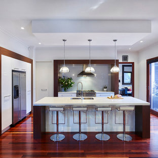u shaped kitchen design ideas inspiration for large contemporary ushaped kitchen in melbourne with doublebowl 75 most popular ushaped kitchen design ideas 2018 stylish