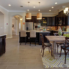 Tropical Kitchen by M/I Homes