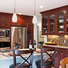 Contemporary Kitchen by M.J. Whelan Construction