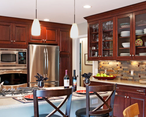Tile backsplash ideas ideas pictures remodel and decor for Nice kitchen pictures