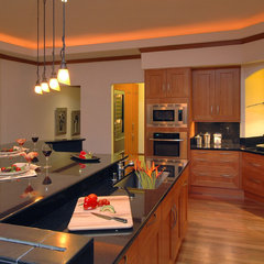 contemporary kitchen by M Squared Design - Architecture