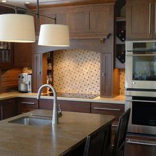 Traditional Kitchen by Susan Brook Interiors