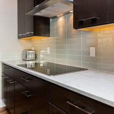 Contemporary Kitchen by Renaissance Granite & Quartz