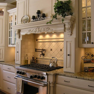 Inspiration for a timeless kitchen remodel in DC Metro with stainless steel appliances and granite countertops