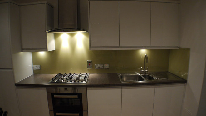 Contemporary Kitchen by Andy Brown Bespoke Interiors Ltd