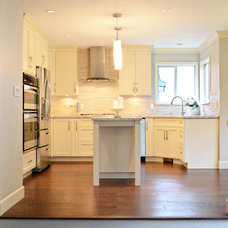 Contemporary Kitchen by Vancouver General Contractors