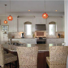 Traditional Kitchen by Coastal Home Plans