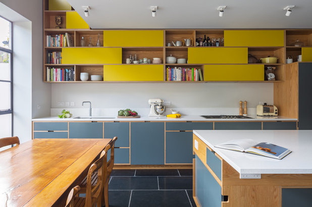 Contemporary Kitchen by Uncommon Projects Ltd