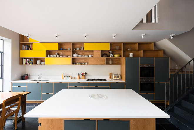 Contemporary Kitchen by MW Architects
