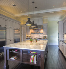 tropical kitchen by Mackle Construction