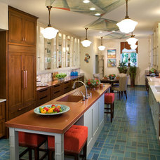 Contemporary Kitchen by Republic Tile Works, LLC