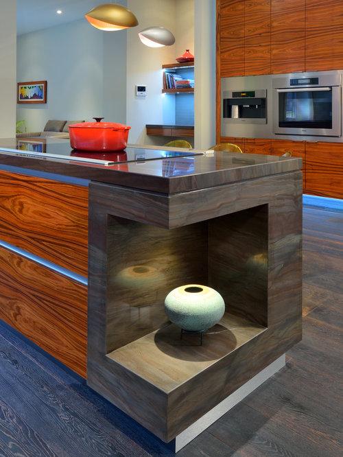 zweizeilige k chen mit onyx arbeitsplatte ideen bilder. Black Bedroom Furniture Sets. Home Design Ideas