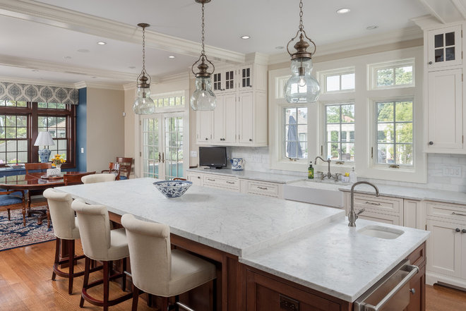 Traditional Kitchen by Atlas Construction Services LLC