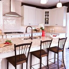 Traditional Kitchen by Melissa Ennis Design