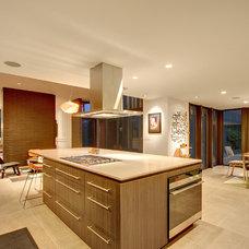 Midcentury Kitchen by Darren Patt Construction