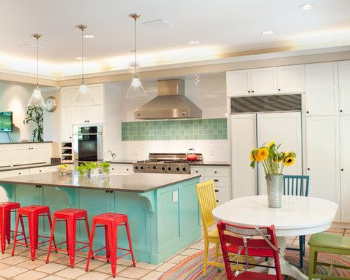 59445 colorful modern kitchen design ideas