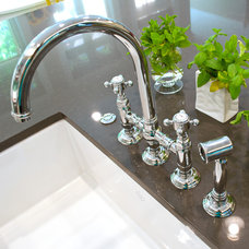 Traditional Kitchen Faucets by Tammara Stroud Design