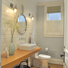 Traditional Bathroom by Tammara Stroud Design
