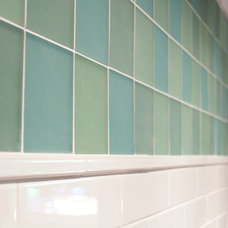 Modern Tile by Tammara Stroud Design